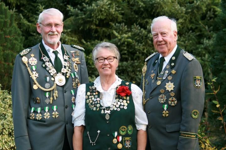 Schlussschießen; Frede Jörgensen und Monika Schön erringen Vizekönigswürde
