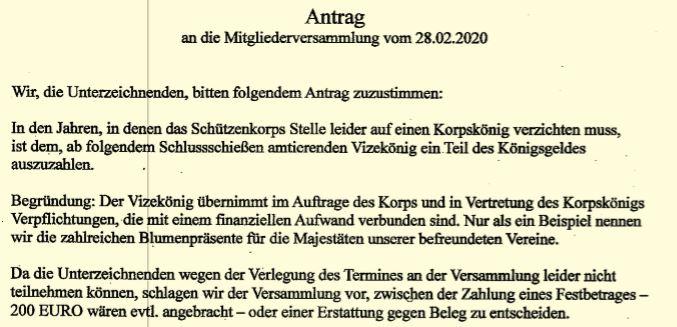 Antrag an die Mitgliederversammlung am 28.02.2020